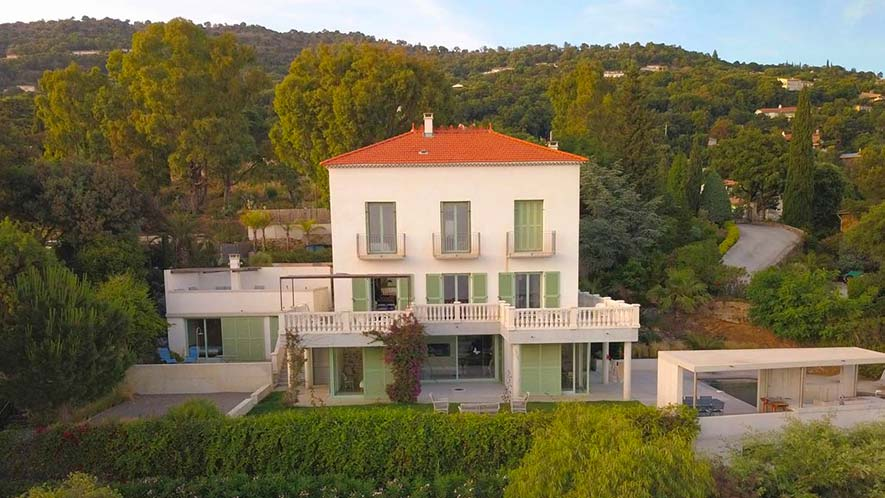 Maison photos drone immobilier