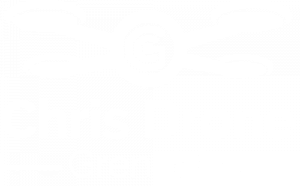 Chris Drone Grenoble logo blanc