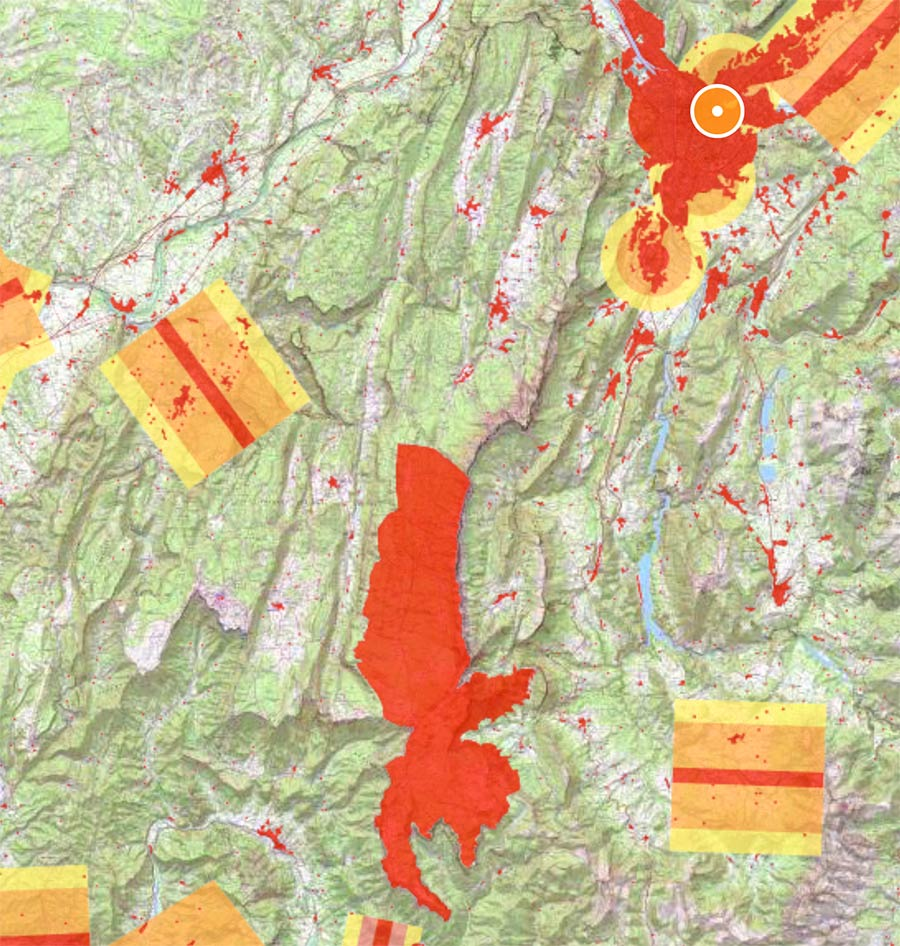 Zone interdite aux Drones Vercors Grenoble