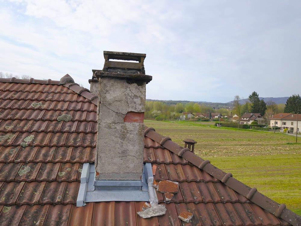 Controle toiture architecte drone grenoble