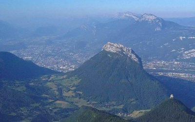 Prises de vues drone dans les montagnes autour de Grenoble