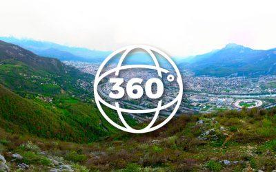 Photos à 360° avec un drone
