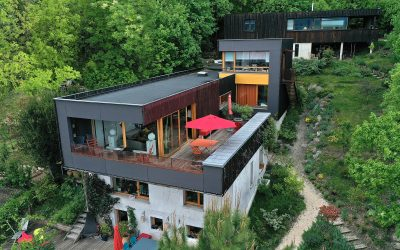 Nouvelle mission drone en cours pour des architectes à Grenoble