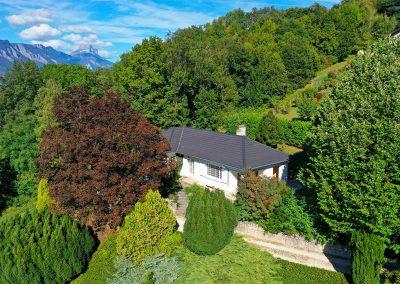 Maison sur la colline du Mûrier au dessus de Grenoble en Isère