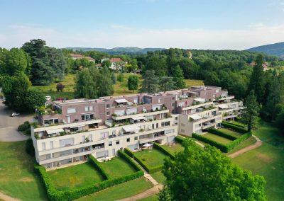 Résidence immobilière à Rives en Isère