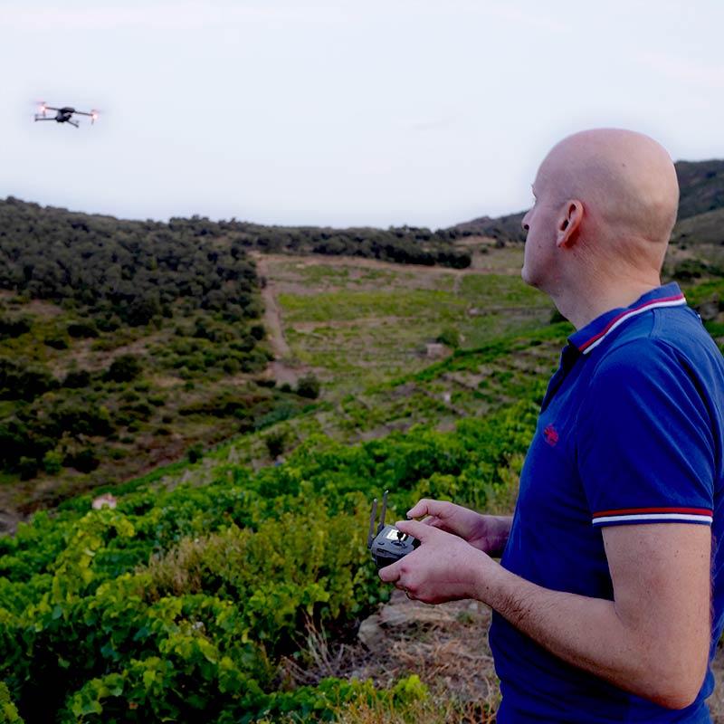 Chris Gaillard Télépilote de drone grenoblois Isère