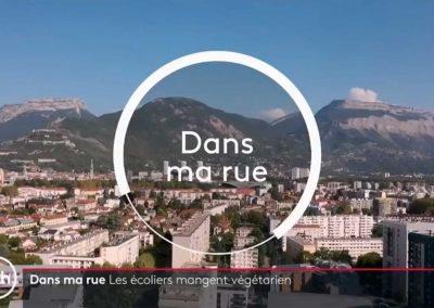 Copie d'écran JT 20h Grenoble drone
