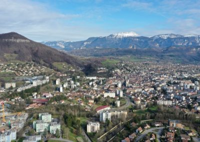 photos drone à Voiron