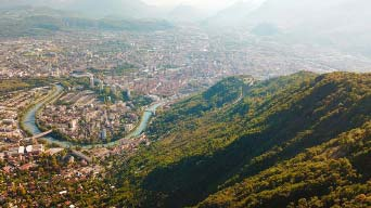 Grenoble-Mont-Rachais-Drone