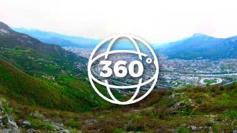 Grenoble Drone photos à 360 degrés