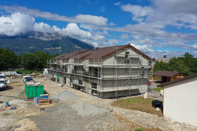 Suivi de chantier par drone à Grenoble