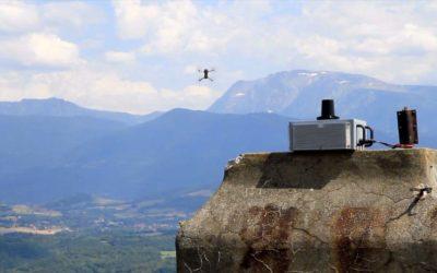Film de démonstration pour un système de brouillage de drone produit dans la région de Grenoble