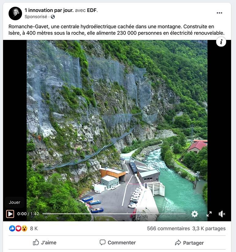 Drone EDF Grenoble
