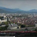 jt-france-2 velo à Grenoble drone