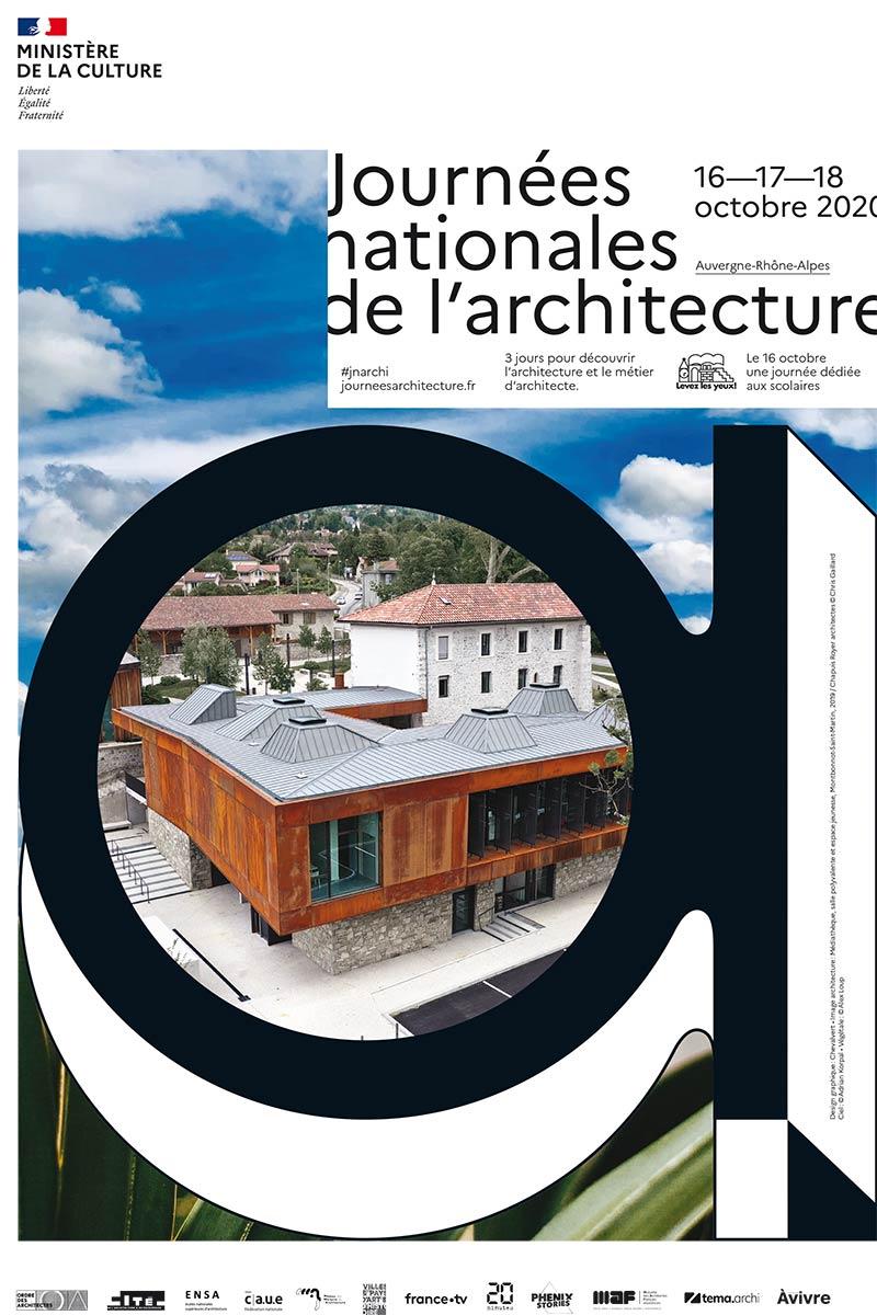 Affiche des Journées Nationales de l'Architecture